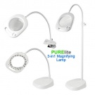 PURElite 3-in-1 Magnifing Lamp Floor or Table Standing