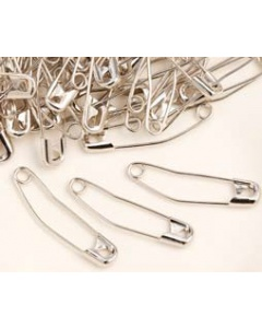 Quilting curved safety pins