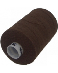 1 x 1000m Reel of Thread in Dark Brown