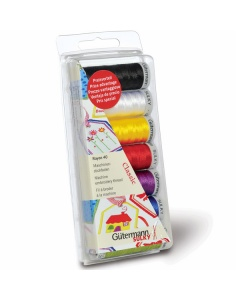 Classic Colours Guttermann Sulky machine embroidery thread set