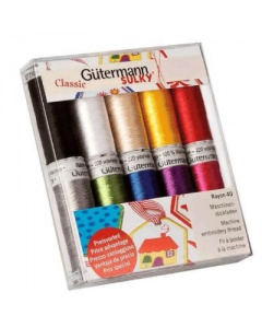 Guttermann Sulky machine embroidery thread set