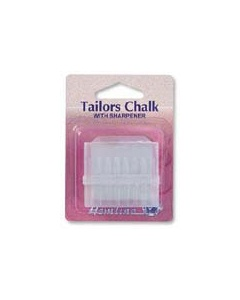 Cream Tailors Chalk And Sharpner