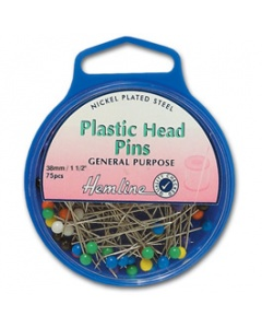 Coloured Plastic Head Pins