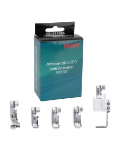 Embellishment Foot Set for the Pfaff Admire Air 5000 Overlockers