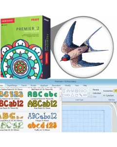 PREMIER+ EMBROIDERY software package