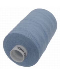1 x 1000m Reel of Thread in Blue