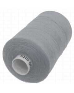 1 x 1000m Reel of Thread in Grey