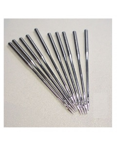 Overlock Needles DCx1F -10 needls per packet. One side of the shank on these needles is flat and the other is round