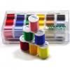 Maderia Rayon Thread Sampler Set - 18 threads