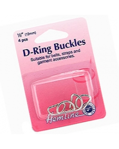 Small Silver D Rings