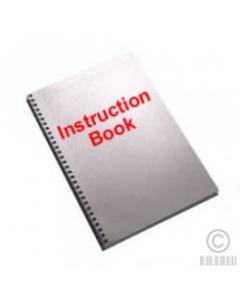 Pfaff Hobbylock HL-603A Book