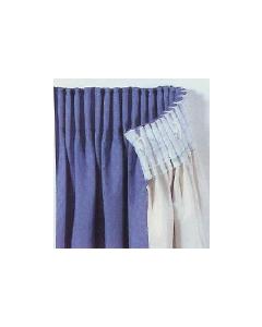 """Standard pencil pleat curtain tape 3"""" (75mm)"""