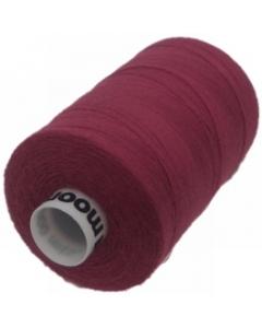 1 x 1000m Reel of Thread in Wine