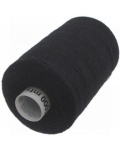 1 x 1000m Reel of Thread in Black