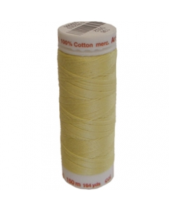 Mettler Cotton Quilting Thread - 502 Light Yellow