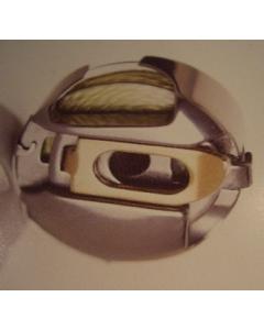 Pfaff Creative Bobbin Case Gold Latch 9mm