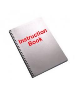 Pfaff 7560 Embroidery Unit Instruction Book