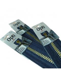 Denim Blue Zips