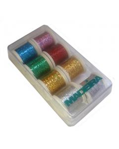 Medeira Jewel Holographic Spectra thread bo of 8 spools