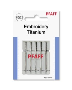 Pfaff Titanium Embroidery Needles