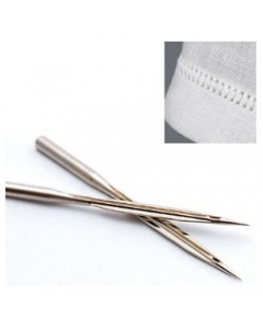 Universal Sewing Machine Needles Hemstitch Wing Point Size 90 Pack Of 2