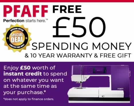 Get £50 Instant Spending Money
