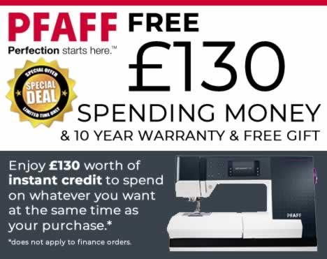 Get £130 Instant Spending Money