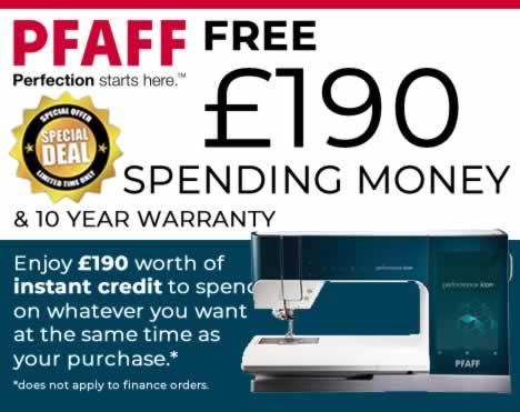 Get £190 Instant Spending Money