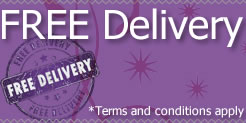 We offer free speedy delivery to UK mainland