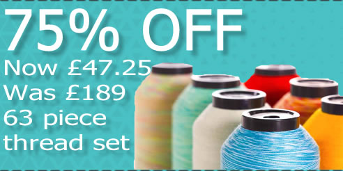 Low Prices On Thread Sets SAVE upto 75%
