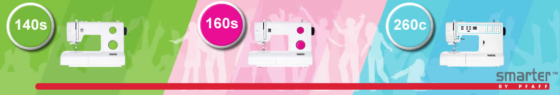 New Pfaff Beginner Range of Sewing Machines